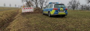 Alarm beim Ausbau bei Kodersdorf! Granate gesprengt